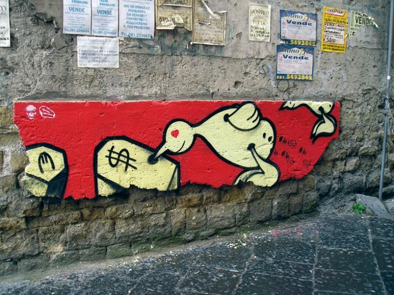 Napoli, via olivella (cancellato)