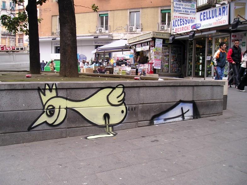 Napoli, piazza Carità