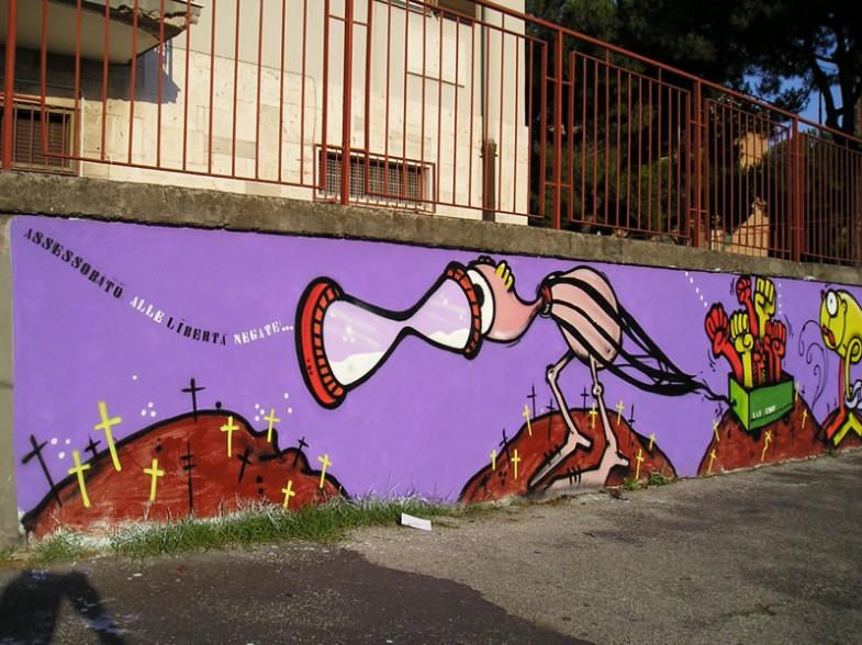 Napoli, via nerva, rione traiano