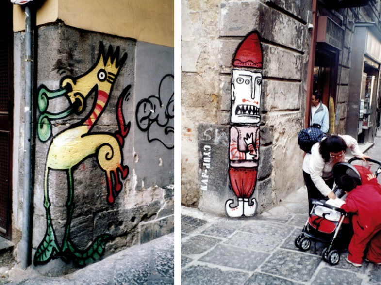 Napoli, vico san domenico maggiore / vico san pietro a majella