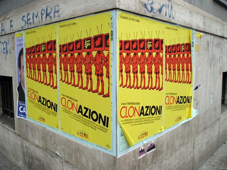 Napoli, campagna promozionale del film Clonazioni