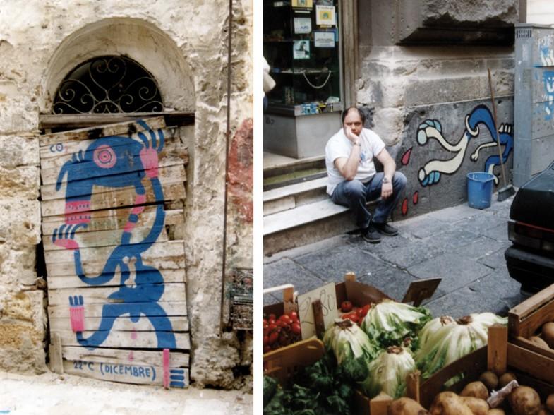 Palermo / Napoli, traversa via de pretis