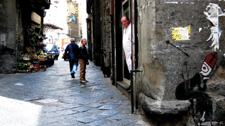 Napoli, largo ecce homo