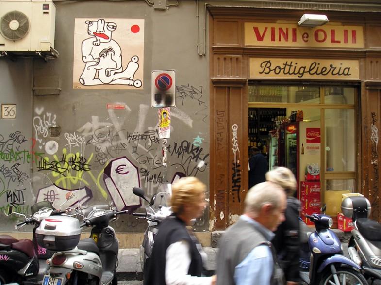 Napoli, via cisterna dell'olio