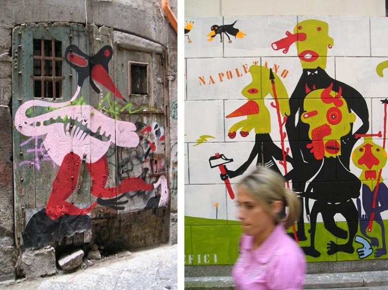 Napoli, centro storico / borgo orefici
