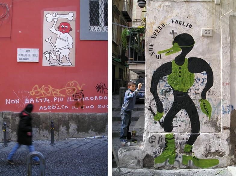 Napoli, centro storico / quartieri spagnoli