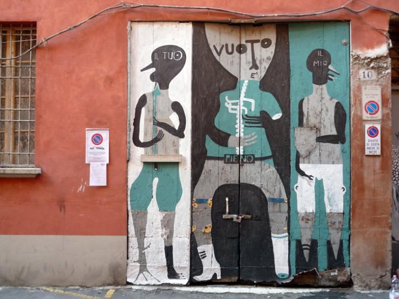 Bologna, via de facchini