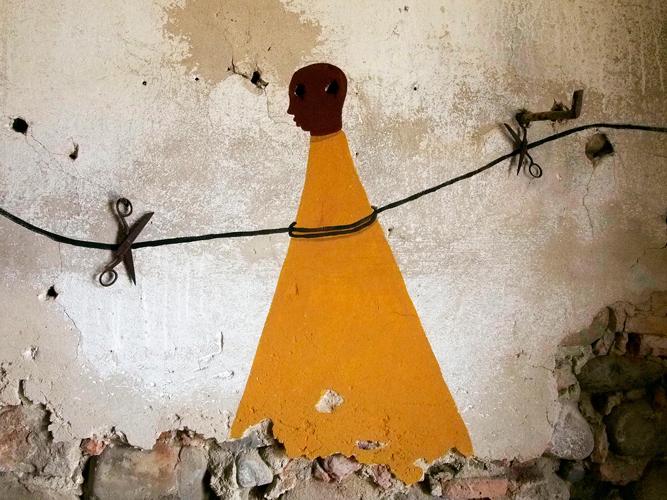 ALIANO - tagliare la corda