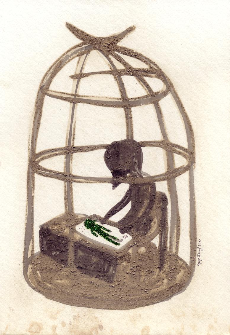 l'omino verde